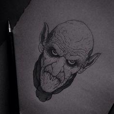 Nosferatu concept art