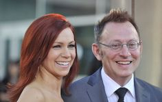 "Michael Emerson and Carrie Preston Photos Photos - Carrie preston and Michael Emerson arrive for the premiere of HBO's ""True Blood"" held at the Arclight Cinerama Dome on June 21, 2011 in Los Angeles, California. - Premiere Of HBO's ""True Blood"" Season 4 - Arrivals"