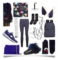 """Style is a way to say"" by emmamegan-5678 ❤ liked on Polyvore featuring Liska, Maison Fabre, Kendra Scott, Chanel, Paskal, Happy Socks, A.P.C., Parme Marin, Koral and New Balance"