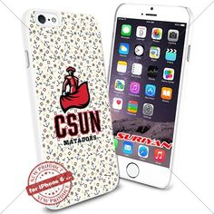 New iPhone 6 Case Cal State CS Northridge Matadors Logo NCAA #1065 White Smartphone Case Cover Collector TPU Rubber [Anchor] SURIYAN http://www.amazon.com/dp/B01504CUQM/ref=cm_sw_r_pi_dp_B28zwb17MNBFF