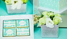 Tiffany Blue Dessert Table   Amy Atlas Events
