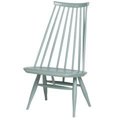 Mademoiselle chair, sage green, designed by Ilmari Tapiovaara.