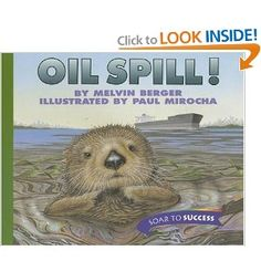 This a great children's book to teach kids about water pollution and its harmful effects on the animals and ecosystem.