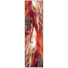 SAFAVIEH Glacier Bree Modern Abstract Rug - On Sale - Overstock - 11724988 - 9' x 9' Square - Red/Multi Pacific Homes, Spot Cleaner, Rug Cleaning, Online Home Decor Stores, Online Shopping, Grey Rugs, Throw Rugs, Contemporary Style, Modern