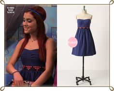 Ariana Grande as Cat Valentine in 'A Film By Dale Squires' (part Anthropologie Fairy Cake Dress Cat Valentine Outfits, Asos Summer Dresses, Ariana Grande Cat, Victorious Cast, Cat Valentine Victorious, Sam And Cat, Keds Champion, Dress Cake, Icarly