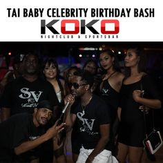 THANK YOU FAM, FRIENDS & GUESTS FOR COMING LAST OCTOBER 8, 2016 ALL BLACK PARTY WITH TANK! TAI BABY CELEBRITY BIRTHDAY BASH !! #WarmThankYou #ThankyouforSupporting #Vibing #Celebrating #Wearestreetvibes #Empire #Keepsupporting #RickB #JuiceJULA #wearestreetcandy #Streetvibes #SkytheGoddess @KOKO