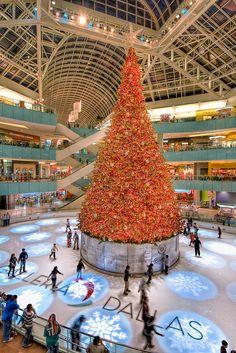 Dallas, TX - Galleria Mall - Christmas Skaters by Matt Pasant