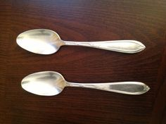 "Antique NEW ENGLAND Silver #Plate 1919 ROSEMARY #Teaspoon #6"",  View more on the LINK: 	http://www.zeppy.io/product/gb/3/232024131/"