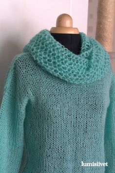 Ainakin yksi huivi vielä... Knit Crochet, Knitting, Crocheting, Fashion, Crochet, Moda, Tricot, Fashion Styles, Cast On Knitting