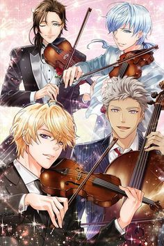 From the spin-off: Gedonelune Music Festival. Azusa, Cerim, Elias, and Glenn.