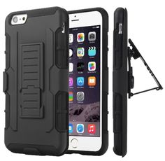 Iphone Military Case 3 in 1 Combo Cover & Stand