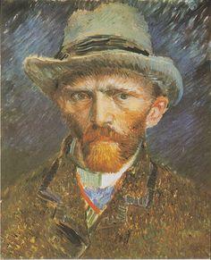 Van Gogh - self-portrait, 1886