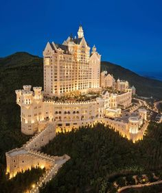 Tour The Castle Hotel, a Luxury Collection Hotel, Dalian with our photo gallery. Our Dalian hotel photos will show you accommodations, public spaces & more. Beautiful Castles, Beautiful Hotels, Beautiful Places, Amazing Hotels, Amazing Places, Beautiful Dream, Wonderful Places, Beautiful Dresses, Dream Mansion