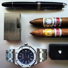 wristprn: Audemars Piguet Royal Oak | #WRISTPORN by @thecigarstrategist | www.wristporn.com (at www.WRISTPORN.com)
