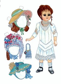 Faith* Christmas paper dolls The International Paper Doll Society Arielle Gabriel artist #QuanYin5 Twitter, Linked In QuanYin5 *