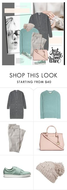 """""""Untitled #2271"""" by liliblue ❤ liked on Polyvore featuring Uniqlo, Burberry, Wrap, Michael Kors, Calvin Klein and prAna"""