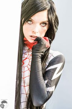 #Cosplay: #Silk aka Cindy Moon