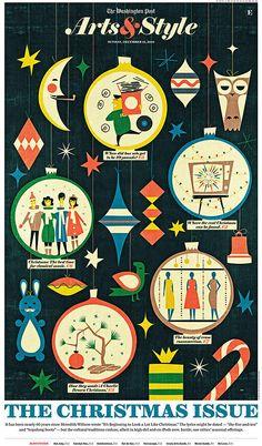 크리스마스도 다가오고 그래서 그냥 올려보고 싶었어요. ㅎㅎㅎㅎ 설레이네요~  작품 출처: http://www.behance.net/gallery/illustration-april-december-10/2948651