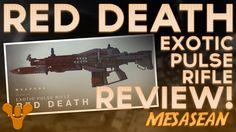Destiny-Red Death Pulse Rifle PVP Melt Machine review. Crota Hard invaluable.