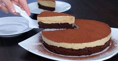Шоколадный торт с кофейным муссом — Торт Капучино      Рецепт вкуснейшего торта Капучино, состоящего из шоколадного бисквита и нежнейшего ...