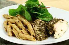 Italiensk kyllingfilet med pasta 4