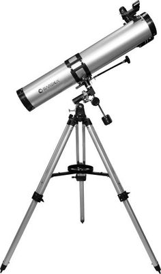 Buy New: CDN$ 149.99 [ Available In Canada ]: Electronics Store: Barska AE10758 Starwatcher 900114 Reflector Telescope (Silver)
