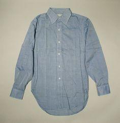 Shirt | American | The Met Denim Button Up, Button Up Shirts, Prep Style, Metropolitan Museum, Art Museum, American, Tops, Fashion, Moda