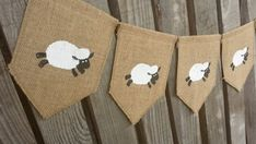 Sheep Banner Lamb Banner Easter Banner Lamb by Littlewhiteboutique