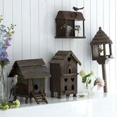 pictureperfectforyou:  (via Secret garden bird houses)