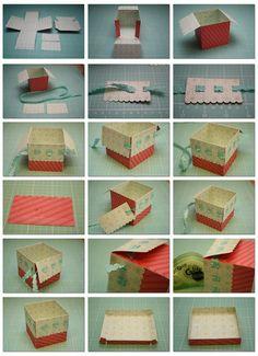 Ribbon Slot Box