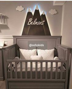 33 Trend Baby Boy Nursery in 2019 Look Cool - Baby Room Baby Boys, Baby Room Boy, Baby Room Decor, Nursery Room, Baby Room Ideas For Boys, Bedroom, Safari Theme Nursery, Woodland Nursery Boy, Rustic Nursery
