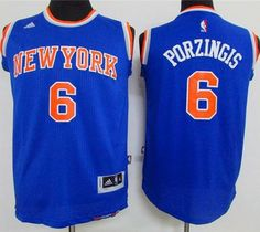 Knicks  6 Kristaps Porzingis Blue Stitched Youth NBA Jersey Cheap Original  Jerseys ae00d174b