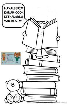 Hayallerim kadar çook kitaplarım var benim..! | OKUL ÖNCESİ FORUM
