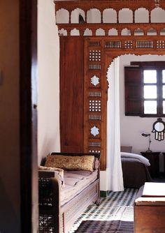 The Dar Seffarine in Morocco   on Design*Sponge #morocco #hotel #fez #darseffarine