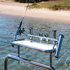 Our range of stainless steel bait boards are perfect for all types of fishing.  They are versatile accessories made from 316 marine grade stainless and feature a cutting board insert made from a strong, durable, corrosion resistant, HDPE long lasting plastic, which will withstand just about anything out boating.  And .... if you can't find the right bait board for you in our range we also offer a custom design and manufacturing service from our Gold Coast based factory 🎣 Stainless Steel Fabrication, Types Of Fish, Gold Coast, Bait, Boating, Be Perfect, Cutting Board, Custom Design, Fishing