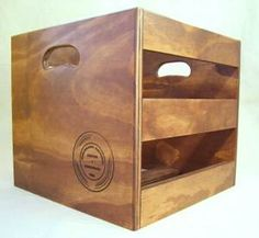vinyl storage - Colorado Record crates