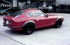 Throwback Thursday: Vintage Nissan Fairlady 240ZG.