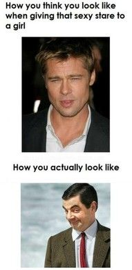 Especially funny because my dad looks like Mr. Bean