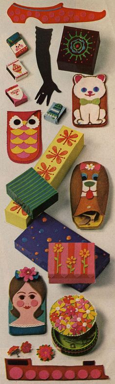 "great gift ideas from ""mc call's needlework and crafts"" fall-winter 1967-68"