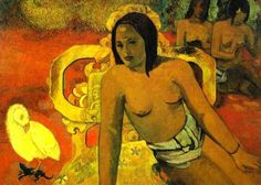 by Paul Gauguin in oil on canvas, done in . Find a fine art print of this Paul Gauguin painting. Paul Gauguin, Vincent Van Gogh, Gauguin Tahiti, Edvard Munch, List Of Paintings, Oil Paintings, Bd Art, Oil On Canvas, Canvas Art