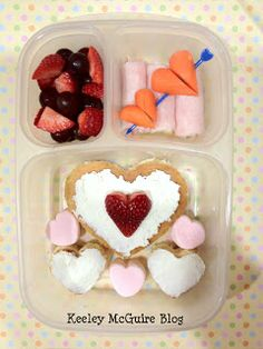 Keeley McGuire: Lunch Made Easy: 15+ Valentine's Day Ideas for School Lunches  #gluten free