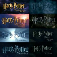 Harry Potter, I Love It!!