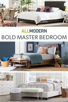 Whether you're looking to complete your space with the perfect pillow, mirror, dresser, or bed, we offer great variety in stylish and sophisticated pieces to suit your every need. From mattresses and sheets to headboards and nightstands, we offer endless options to help you perfect your modern bedroom design. Visit AllModern today to explore our selection and sign up for exclusive access to deals for your modern home. Free shipping on orders over $49!