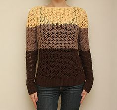 Simple #chrochet motif + clean design + right colors = gorgeous result. Love it!