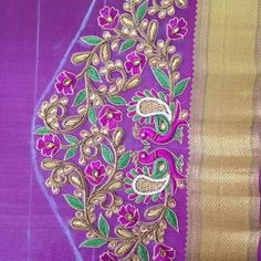 Bridal Blouse Designing available Peacock Blouse Designs, Peacock Embroidery Designs, Cutwork Blouse Designs, Best Blouse Designs, Simple Blouse Designs, Dress Neck Designs, Bridal Blouse Designs, Sleeve Designs, Magam Work Designs