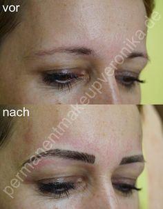Profi für Permanent Make-up der Augenbrauen