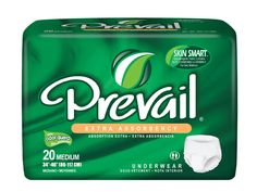 Prevail Extra Absorbency Underwear can be worn by a man or a woman for the ultimate in discretion and comfort. With Prevail's thinner absorbent core, you get a more discreet product that absorbs more and allows you to move freely.  In addition, you get comfortable protection that locks up any liquid and prevents it from ever coming in contact with your skin. These products are able to absorb more than its actual weight. This product comes in Extra and Super Plus absorbency.