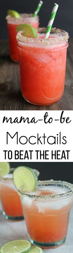Mama-to-Be Mocktails that are perfect for summer!