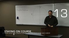 Staying On Course from Using the Career Compass to Find Your Work and Career [Video] (1:00)