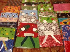 Christmas pillowcase and Child  Friendly pillowcases for our Local Children's Home!